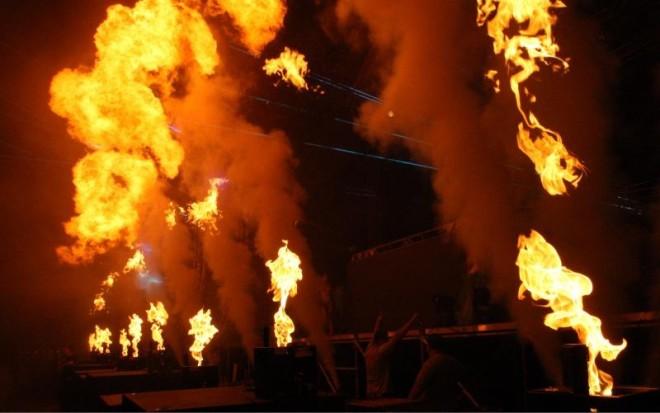 12.07.2014., Split - Drugi dan Ultra Europe Festivala, DJ  Knife Party. Photo: Ivo Cagalj/PIXSELL