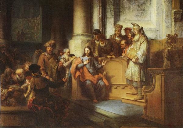 Isus-poučava-u-sinagogi